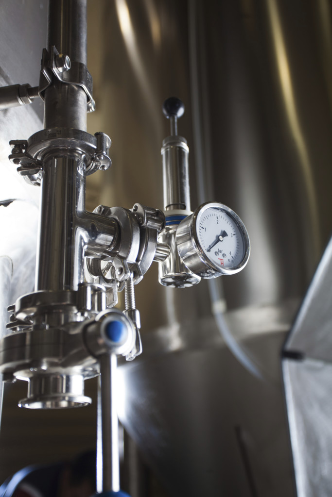 brewing production vats, temperature control, sensors, thermocouple